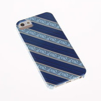 Chappy Stripe Whale iPhone 5 Case