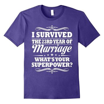 23rd Wedding Anniversary Gift Ideas For Her/ Him- I Survived