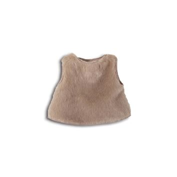 Amelia Boys' PAN Fur Natural Vest