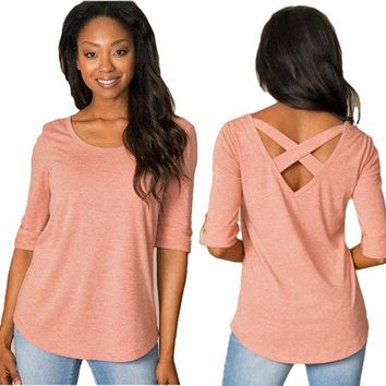 The Criss-Cross Top by Simply Noelle
