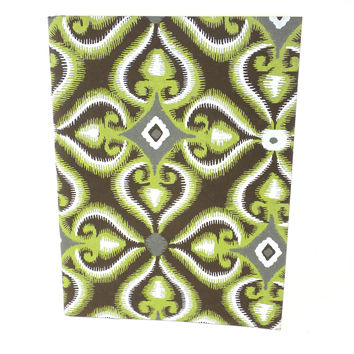 Green Illusion Soft Journal Recycled Cotton Fabric