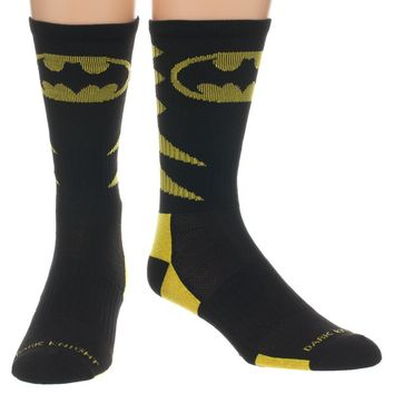 Batman Athletic Crew Socks