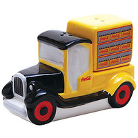 Coke Delivery Truck And Bottles Shaker Set