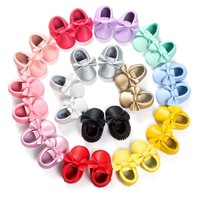 First Walkers Baby Moccasins 0-18 Months