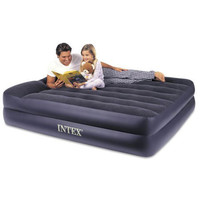 Intex Pillow Rest Queen Airbed with Built-in Electric Pump | deviazon.com