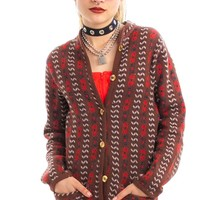 Vintage 70's Yippie Cardigan - XS/S