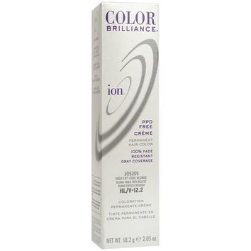 Ion Color Brilliance Permanent Creme HL-V Hi Lift Cool Blonde