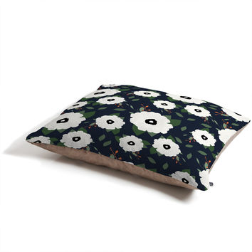 Allyson Johnson Floral Class Pet Bed