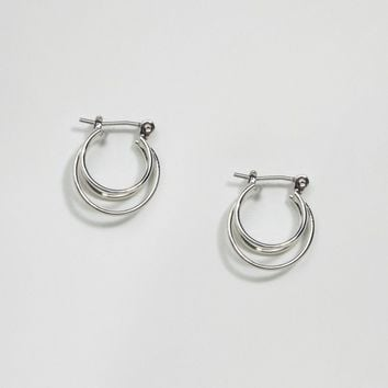 ASOS Mini Triple Hoop Earrings at asos.com