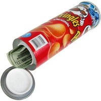 Trademark Home  Hide Your Money Pringles Can Diversion Safe