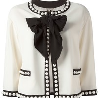 Moschino Bow Jacket