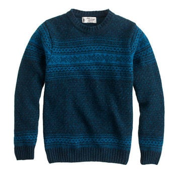 J.Crew Mens Harley Of Scotland Nor'easterly Sweater