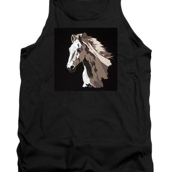 Wild Horse With Hidden Pictures - Tank Top