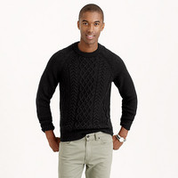 J.Crew Mens Cable Cotton Sweater