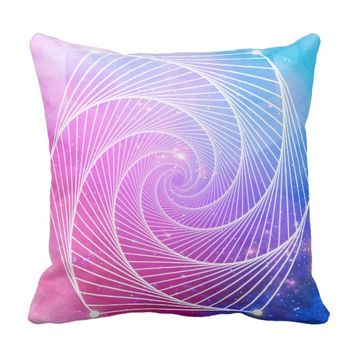 Sacred Geometry 3 Throw Pillow