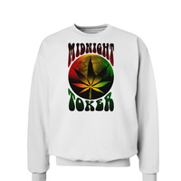 Midnight Toker Marijuana Sweatshirt