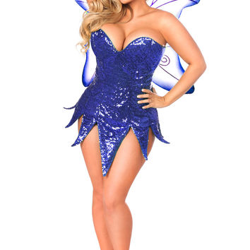 Top Drawer Sequin Fairy Corset Dress Costume