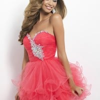 Blush Prom 9674 Sparkly Cocktail Dress