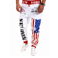 New York Graphic Joggers