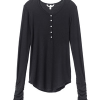 Ruched Henley - Sexy Little Tees - Victoria's Secret