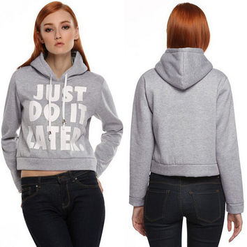Womens Casual Hoodie Sports Sweater Gift 33