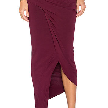 x REVOLVE Sassy Skirt in Cranberry