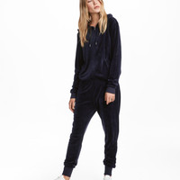 Velour Jumpsuit - from H&M