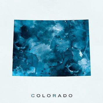 'Colorado' Poster by MonnPrint