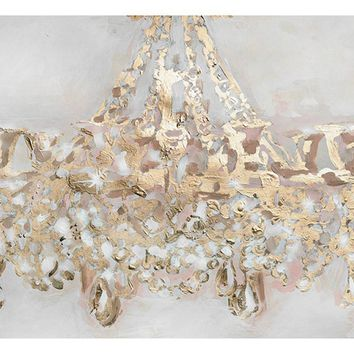 Oliver Gal Candelabro Canvas Wall Art - Wall Art at Hayneedle