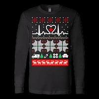 Christmas nurse cna doctor ugly sweater