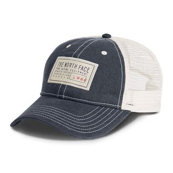 Broken In Trucker Hat in Urban Navy & Vintage White by The North Face