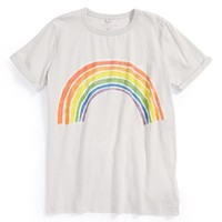 Girl's Stella McCartney Kids 'Lolly' Graphic Organic Cotton Tee,