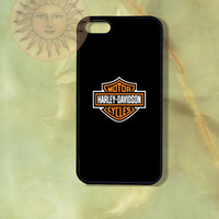 Harley Davidson Motocycle-iPhone 5, 5s, 5c, 4s, 4, Ipod touch 5, Samsung GS3, GS4 case-Silicone Rubber or Hard Plastic Case, Phone cover