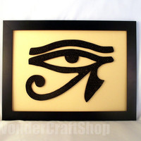 Horus Eye, Eye of Ra, egyptian eye home decor, egyptian eye, eye of Horus, eye symbol, egypt god, egypt, ancient egypt, wall hanging, Wadjet