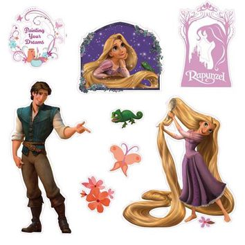 Disney Princess Tangled Rapunzel Wall Decal Stickers