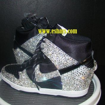Custom Section Covered Bling Nike Dunk