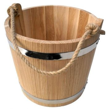 Wooden Bucket, Ice Bucket, Rustic barware, Medieval decoration, Festival, Primitive, Farmhouse Waterware