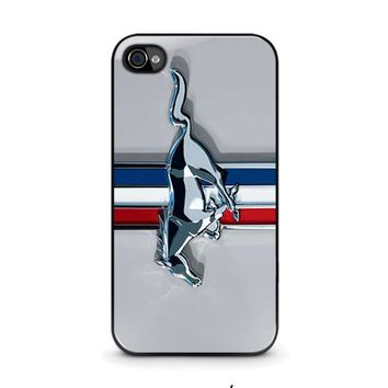 ford mustang iphone 4 4s case cover  number 1