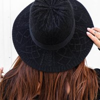 The Good Black Wool Knit Hat