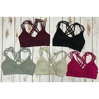 Round About Bralette: Mulitple Colors