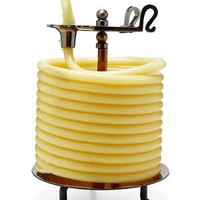 60 HOUR CANDLE | Coiled Beeswax Candle