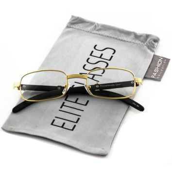 2296cc6208 Designer Nerd Square Optical Frame Women Men Elite Fashion Glass