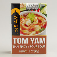 deSiam Instant Tom Yam Soup, Set of 12 - World Market