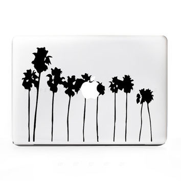 10 Palm Trees Sticker Decal for Mac PC Laptops - Many Sizes Available - 15+ Colors