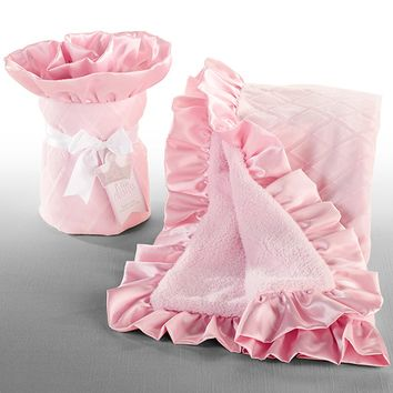 "Baby Aspen ""Little Princess"" Baby Blanket"