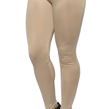 BadAssLeggings Women's Leggings Medium Cream