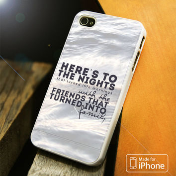 Heres to the Night iPhone 4 5 5C SE 6 Plus Case
