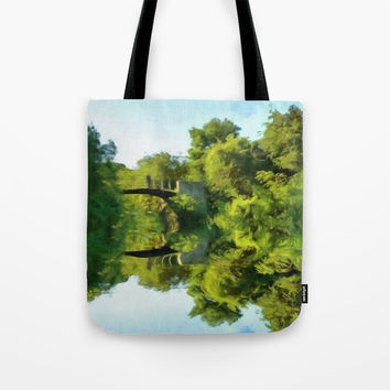 The Bridge Tote Bag by Chris Bradbury