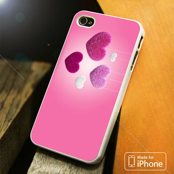 Hearts In Fluffy iPhone 4 | 4S, 5 | 5S, 5C, SE, 6 | 6S, 6 Plus | 6S Plus Case