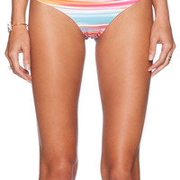 L*SPACE Itsy Bikini Bottom in Orange